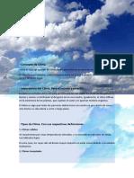 Informe sobre el clima