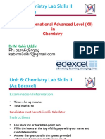 Lecture 1 Lab Safety Edexcel XII MM