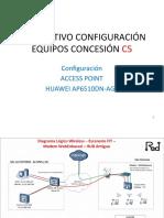 INSTRUCTIVO CONFIGURACIÓN AP - FIT - Huawei AP6510DN-AGN