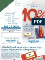 10% de tu prima en tarjeta regalo al contratar tu seguro de hogar