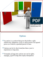 Options and Option Valuation