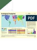 world map eco footprint impronta ecologica