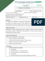 ECV 021- ESTRUTURA DE MADEIRA
