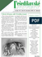 Tešedíkovské noviny - 2008. december