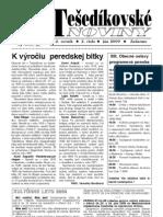 Tešedíkovské noviny - 2009. jún