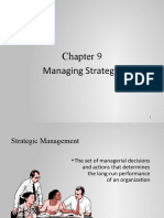 Ch 9- Strategic Management