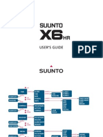 Suunto X6HR Manual English