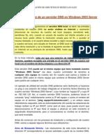 Tema 6 Parte 6 Instalacion de Un Servidor DNS en Windows 2003 Server