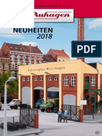 Auhagen 2018 Neuheiten