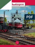 Auhagen 2020 Neuheiten