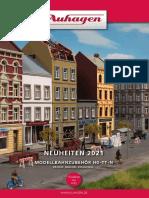 Auhagen 2021 Neuheiten