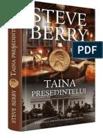 Steve Berry Taina Presedintelui