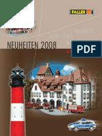 Faller 2008 Neuheiten