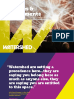 Watershed Activities and Achievements