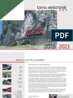 Tam 2020 Katalog