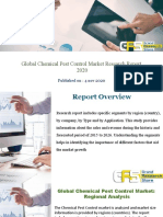 Global Chemical Pest Control Market Research Report