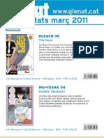 Novedades Glénat Marzo 2011 (Catalán)