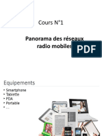 Cours N°1 - Panorama des Réseaux Radio Mobiles