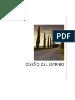 SEPARADOR DISEÑO DEL ESTRIBO