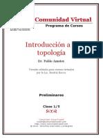 01 Introduccion a La Topologia
