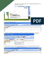 Tutorial sobre la barra de Herramientas del Excel