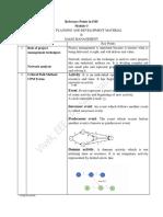 IMS Checklist 4 - Mod 3-1
