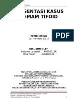Presentasi Kasus Demam Tifoid