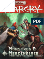 Age of Sigmar - Warcry - monstres & mercenaires