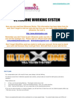 Ultraxone Working System