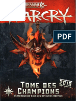 Age of Sigmar - Warcry - Tome des champions 2019