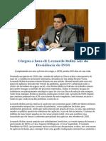 Chegou a hora de Leonardo Rolim sair da Presidência do INSS