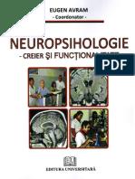 Eugen Avram - Neuropsihologie. Creier Și Funcționalitate