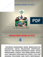 Manajemen Risiko  DI FKTP Arjaty 2019 (Bu Arjaty)