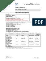Hoja de Seguridad Mezcla Propano 0.12% CO 4% CO2 12% N2 Balance