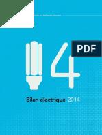 Bilan Electrique 2014