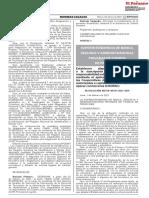 Resolución SBS 311-2021-SBS