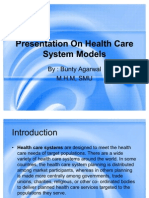Presentation On Health Care System Models