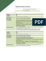 Modelo de Roteiro de Testes