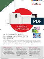 Brochure Primacy Lamination HD