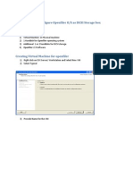 Openfiler Configuration