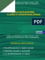 pp. 3 stratificazione, classi e disuguaglianze