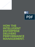 How the Intelligent Enterprise Delivers Performance Mgmt