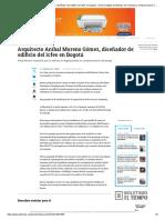 Arquitecto Aníbal Moreno Gómez, Diseñador Del Edificio Del Icfes en Bogotá - Archivo Digital de Noticias de Colombia y El Mundo Desde 1.990 - Eltiempo.com