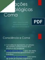 ALTERAÇÕES NEUROLÓGICAS - COMA