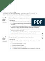 Tarea 1 - Cuestionario de Presaberes - Cuestionario de Evaluación.