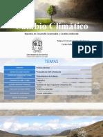 Diapositivas de Cambio Climatico