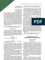 Pescado - Legislacao Portuguesa - 2011/02 - Port nº 82 - QUALI.PT