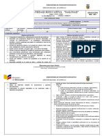 PCA. matematicas  2 BGU