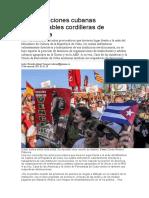 Las instituciones cubanas infranqueables cordilleras de resistencia. Ricardo Alonso