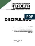 APOSTILA DISCIPULADO 2019